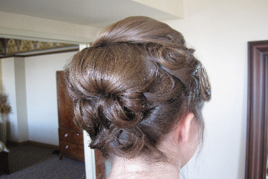 back-updo-with-bump-and-curls-wedding-hair-by-meleah-1