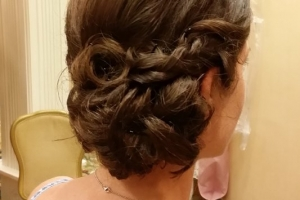 braided-wedding-updo- bridal-by-meleah