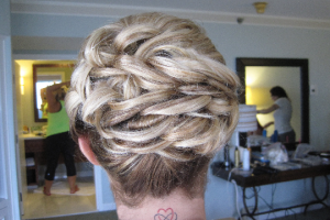 elegant-looped-bridal-updo-by-meleah